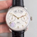 Replica IWC Portugieser Annual Calendar IW503501 YL Stainless Steel White Dial Swiss 52850