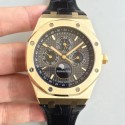 Replica Audemars Piguet Royal Oak Perpetual Calendar 41MM 26574BA.OO.1220BA.01 BF Yellow Gold Black Dial Swiss 5134