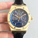 Replica Audemars Piguet Royal Oak Perpetual Calendar 41MM 26574BA.OO.1220BA.01 BF Yellow Gold Blue Dial Swiss 5134