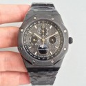 Replica Audemars Piguet Royal Oak Perpetual Calendar 41MM 26579CE.OO.1225CE.01 BF Ceramic Black Dial Swiss 5134
