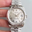 Replica Rolex Datejust 36MM 116234 MIT Stainless Steel 904L Rhodium Dial Swiss 3135