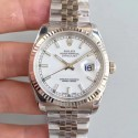 Replica Rolex Datejust 36MM 116234 AR Stainless Steel 904L White Dial Swiss 3135