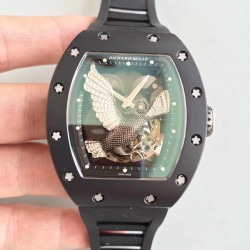 Replica Richard Mille RM023 KV Ceramic Eagle Skeleton Dial M8215