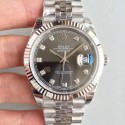 Replica Rolex Datejust II 126334 41MM 2018 EW Stainless Steel Anthracite Dial Swiss 3235
