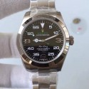 Replica Rolex Air-King 116900 V7 2018 Stainless Steel Black Dial Swiss 2836-2