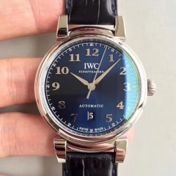 Replica IWC Da Vinci Automatic IW356601 TW Stainless Steel Blue Dial Swiss 2892