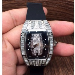 Replica Richard Mille RM007 Lady Stainless Steel Diamonds Dial M6T51