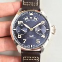 Replica IWC Big Pilot Annual Calendar Edition 150 Years IW502708 N Stainless Steel Blue Dial Swiss 52850
