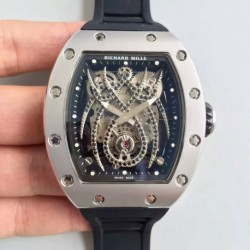 Replica Richard Mille 19-01 SF PVD / Stainless Steel Diamond Spyder Dial M6T51