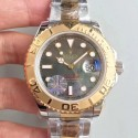 Replica Rolex Yacht-Master 40 116622 JF Stainless Steel & Yellow Gold Anthracite Dial Swiss 2836-2