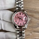 Replica Rolex Lady Datejust 28 279160 28MM WF Stainless Steel Pink Mother Of Pearl Dial Swiss 2671