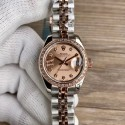 Replica Rolex Lady Datejust 28 279381RBR 28MM WF Stainless Steel & Rose Gold Rose Gold Dial Swiss 2671