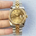 Replica Rolex Datejust II 126333 41MM N Stainless Steel & Yellow Gold Champagne Dial Swiss 2836-2