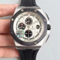 Replica Audemars Piguet Royal Oak Offshore 26400SO.OO.A002CA.01 JF V2 Stainless Steel White Dial Swiss 3126