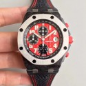 Replica Audemars Piguet Royal Oak Offshore Singapore GP F1 26190OS.OO.D003CU.01 JF V2 Forged Carbon Red Dial Swiss 7750