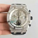 Replica Audemars Piguet Royal Oak Offshore 26067BC.ZZ.D002CR.01 JF V2 Steel & Diamonds Diamond Dial Swiss 7750