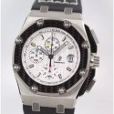 Replica Audemars Piguet Royal Oak Offshore Juan Pablo Montoya 2603010.OO.D001IN.01 JF V2 Titanium White Dial Swiss 2840