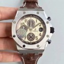 Replica Audemars Piguet Royal Oak Offshore 26470ST.OO.A801CR.01 JF V2 Stainless Steel Brown Dial Swiss 3126