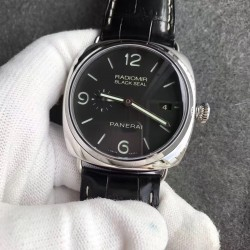 Replica Panerai Radiomir Black Seal 3 Days PAM388 VS Stainless Steel Black Dial Swiss P9000
