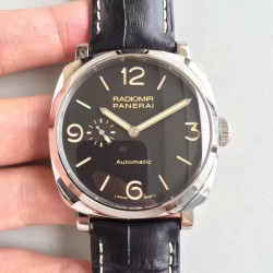 Replica Panerai Radiomir 1940 PAM572 SF Stainless Steel Black Dial Swiss P4000