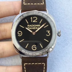 Replica Panerai Radiomir 3 Days Acciaio Brevettato PAM685 SF Stainless Steel Black Dial Swiss P3000