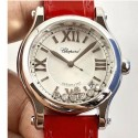 Replica Chopard Happy Sport 36MM Automatic 278559-3001 N Stainless Steel Silver & Diamond Dial Swiss 2892