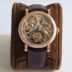 Replica Franck Muller Giga Tourbillon TW Rose Gold Skeleton Rose Gold Dial Swiss Tourbillon