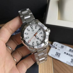 Replica Tag Heuer Aquaracer Calibre 5 WAY2013.BA0927 N Stainless Steel White Dial Swiss SW200