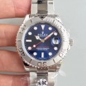 Replica Rolex Yacht-Master 37 268622 AR Stainless Steel 904L Blue Dial Swiss 3135