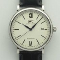 Replica IWC Portofino Automatic Edition 150 Years IW356519 Stainless Steel White Dial M9015