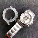 Replica Rolex Daytona Cosmograph 116520 N Stainless Steel 904L White Dial Swiss 4130 Run 6@SEC
