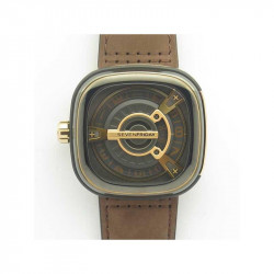 Replica SevenFriday M2/02 SV PVD Brown Dial Miyota 8215