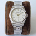 Replica Rolex Oyster Perpetual 39 114300 AR Stainless Steel 904L White Dial Swiss 3132