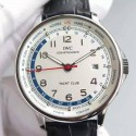 Replica IWC Portuguese Yacht Club Stainless Steel White Dial Swiss 89000