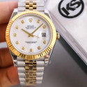 Replica Rolex Datejust II 116333 41MM KS Stainless Steel & Yellow Gold Mother Of Pearl Dial Swiss 2836-2