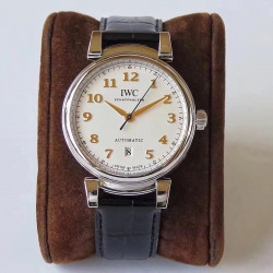 Replica IWC Da Vinci Automatic IW356601 MK Stainless Steel White Dial Swiss 2892