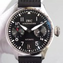 Replica IWC Big Pilot IW500910 Power Reserve Stainless Steel Black Dial Swiss 521111