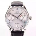 Replica IWC Portuguese IW5007 Power Reserve Stainless Steel White Dial Swiss IWC 52010