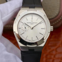 Replica Vacheron Constantin Overseas Automatic 37MM 2300V Noob Stainless Steel White Dial Swiss 5300