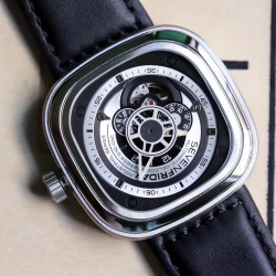 Replica SevenFriday P1B/01 Essence SW Stainless Steel Silver Dial Miyota 82S7