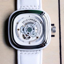 Replica SevenFriday P1B/02 Essence SW Stainless Steel White Dial Miyota 82S7
