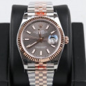 Replica Rolex Datejust 36MM 116231 GM Stainless Steel 904L & Rose Gold Anthracite Dial Swiss 2824-2