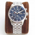 Replica IWC Pilot Chronograph Edition Le Petit Prince IW377717 ZF Stainless Steel Blue Dial Swiss 7750
