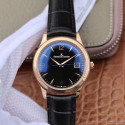 Replica Jaeger-LeCoultre Master Control Date 1542520 ZF Rose Gold Black Dial Swiss Caliber 899/1