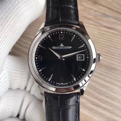 Replica Jaeger-LeCoultre Master Control Date 1548470 ZF Stainless Steel Black Dial Swiss Caliber 899/1
