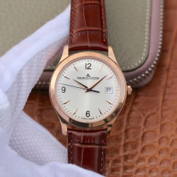 Replica Jaeger-LeCoultre Master Control Date 1542520 ZF Rose Gold Silver Dial Swiss Caliber 899/1