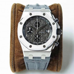 Replica Audemars Piguet Royal Oak Offshore Chronograph 26470ST.OO.A104CR.01 JF V2 Stainless Steel Black Dial Swiss 3126