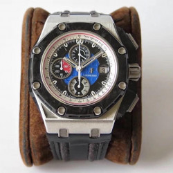 Replica Audemars Piguet Royal Oak Offshore Grand Prix 26290PO.OO.A001VE.01 JF V3 Stainless Steel Blue Dial Swiss 3126