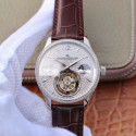 Replica Jaeger-LeCoultre Master Tourbillon JIA Stainless Steel & Diamonds Diamond Dial Swiss Tourbillon