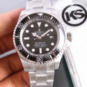 Replica Rolex DEEPSEA 126600 KS Stainless Steel Black Dial Swiss 2836-2